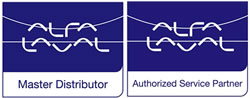 Alfa Laval Master Distributor and Authorised Service Partner