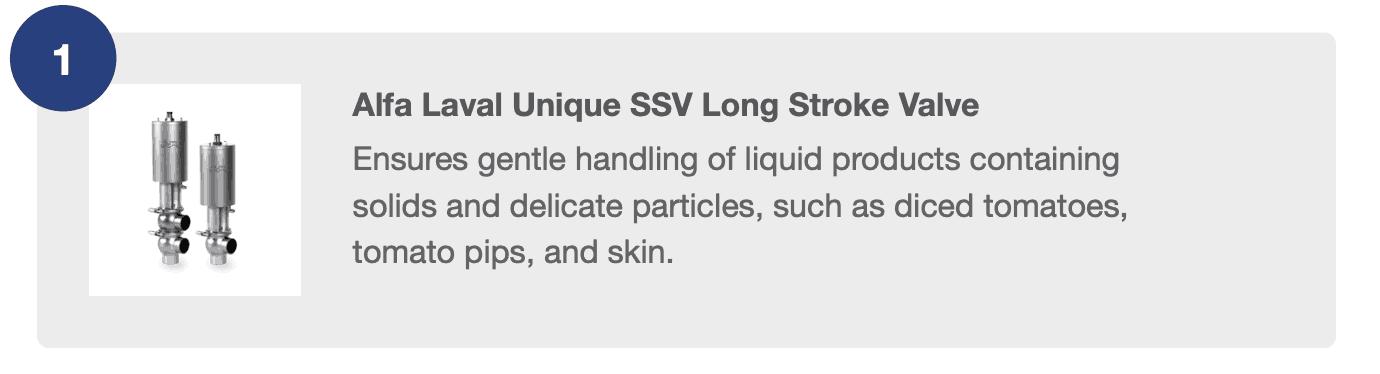 Alfa Laval Unique SSV Long Stroke Valve